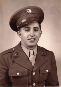 (Photo of Dad, U.S. Army, c. 1944)