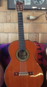 Guitar presented to me by Maestro Miguel Abloniz. Made by Ernest Koroskenyi