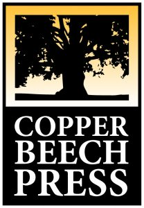 My new logo for Copper Beech Press. (Image created by Hollis Machala.)