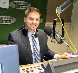 Chris Carreiro, host of the